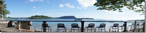 View from Anchor Inn Port Vila Vanuatu